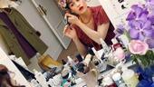 Backstage with Carla Gugino – blush