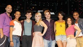 <i>Rent</I> Meet and Greet – Nicholas Christopher – MJ Rodriguez – Adam Chanler-Berat – Annaleigh Ashford – Matt Shingledecker – Corbin Reid – Arianda Fernandez – Ephraim Sykes
