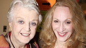 Angela Lansbury puts an arm around Jan Maxwell, who is delivering one hell of a performance in Follies. Stop by the Marquis Theatre and see for yourself!