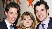 Peter and the Starcatcher Opening Night – Christian Borle – Celia Keenan-Bolger – Adam Chanler-Berat