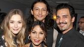 Romeo & Juliet – Opening Night – Elizabeth Olsen – Julian Cihi – Dion Mucciacito – Daphne Rubin-Vega