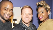Brian Littrell at After Midnight - Dule Hill - Brian Littrell - Fantasia Barrino