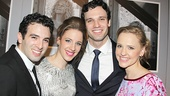 <I> Beautiful: The Carole King Musical</I>: Opening - Jarrod Spector, Jessie Mueller, Jake Epstein - Anika Larsen