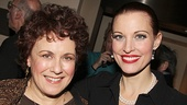 Older Belle and Young Belle unite! Judy Kaye and Rachel York strike a pose.