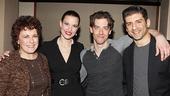 Little Me players Judy Kaye, Rachel York, Christian Borle & Tony Yazbeck