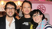 Josh Groban hangs out with Hedwig stars Neil Patrick Harris and Lena Hall.