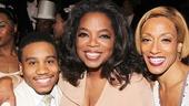 """After Midnight - backstage - OP - 5/14 - Virgil """"Lil' O"""" Gadson - Oprah Winfrey - Karine Plantadit"""