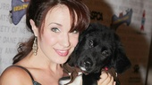 The Phantom of the Opera star Sierra Boggess makes a new friend!