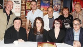 Director Jack O'Brien, playwright Terrence McNally and the cast of It's Only a Play take a company photo.