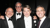 It's Only A Play - Opening - 10/14 - Marc Shaiman - Scott Wittman - Matthew Broderick - Andy Cohen