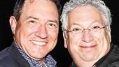 Something Rotten - backstage - 4/15 - Kevin McCollum - Harvey Fierstein