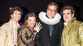Something Rotten! - Backstage - 4/15 - John Cariani - Christian Borle - Brian D'Arcy James - Bob Saget