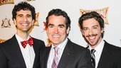 Something Rotten! - Opening - wide - 4/15 - John Cariani - Brian d'Arcy James - Christian Borle