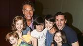 Fun Home - Actors Fund performance - 8/15 - Brian Stokes Mitchell - Leanne Cope, Max von Essen - ydney Lucas, Zell Marrow Steele, Oscar Williams - Gabriella Pizzolo