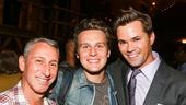 Hamilton - Backstage - 9/15 - Adam Shankman - Jonathan Groff - Andrew Rannells