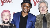 Kinky Boots - Wayne Brady - First Performance - 12/15 - Cyndi Lauper, Wayne Brady and Harvey Fierstein