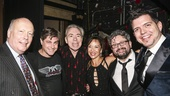 School of Rock - Opening - 12/15 - Julian Fellowes, Glenn Slater, Andrew Lloyd Webber,  JoAnn M. Hunter, Laurence Connor and Ethan Popp