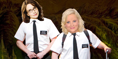 it makes sense that fey and poehler would step into broadways funniest musical and who says mormons leading missionaries have to be dudes anyway - Mormon Halloween Costumes