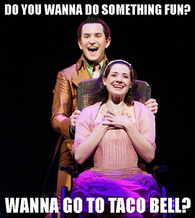 11 Fetch Photo Mashups Of Wicked And Mean Girls Broadway Buzz Broadway Com