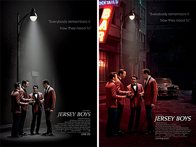 the guys from the jersey boys movie are teleporting here