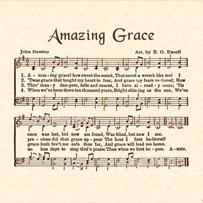 Old Hymns Amazing Grace 12