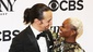 Lin-Manuel Miranda and Cynthia Erivo congratulate each other on their wins!